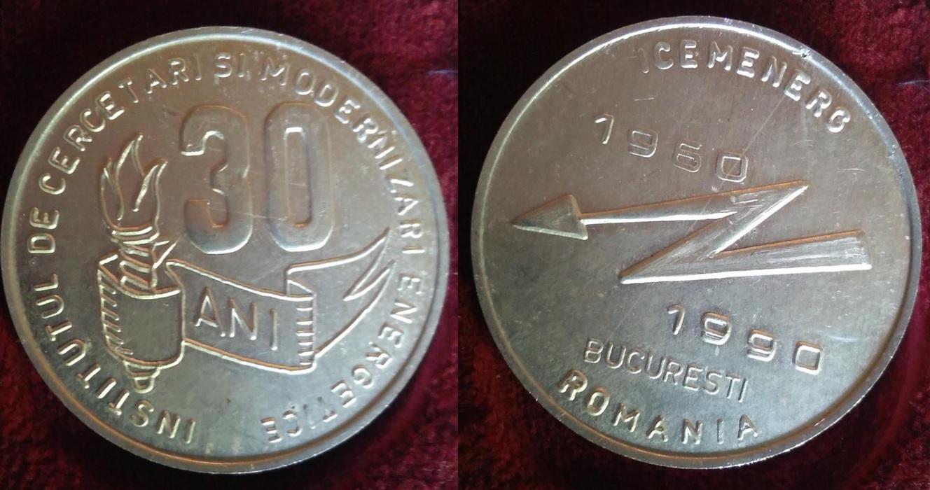 5- 1990 -Medalia jubiliară ICEMENEG