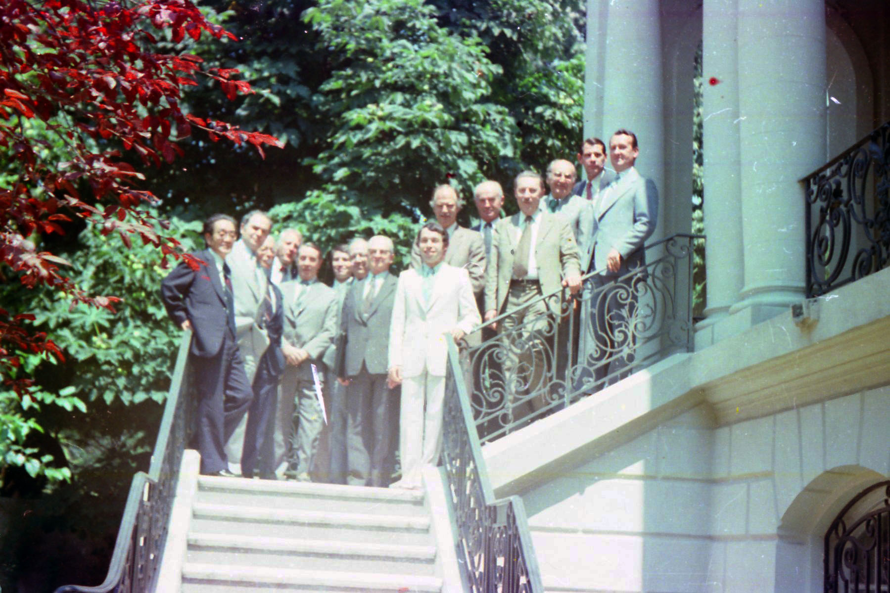Foto 1- 20.07.1979 - Reuniunea Comitetului de Conservare a energiei