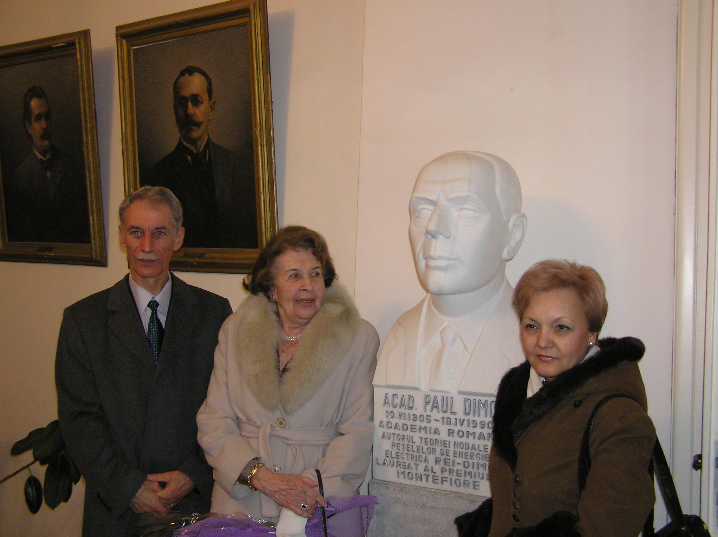 100 de ani de la nasterea Acad. Paul Dimo