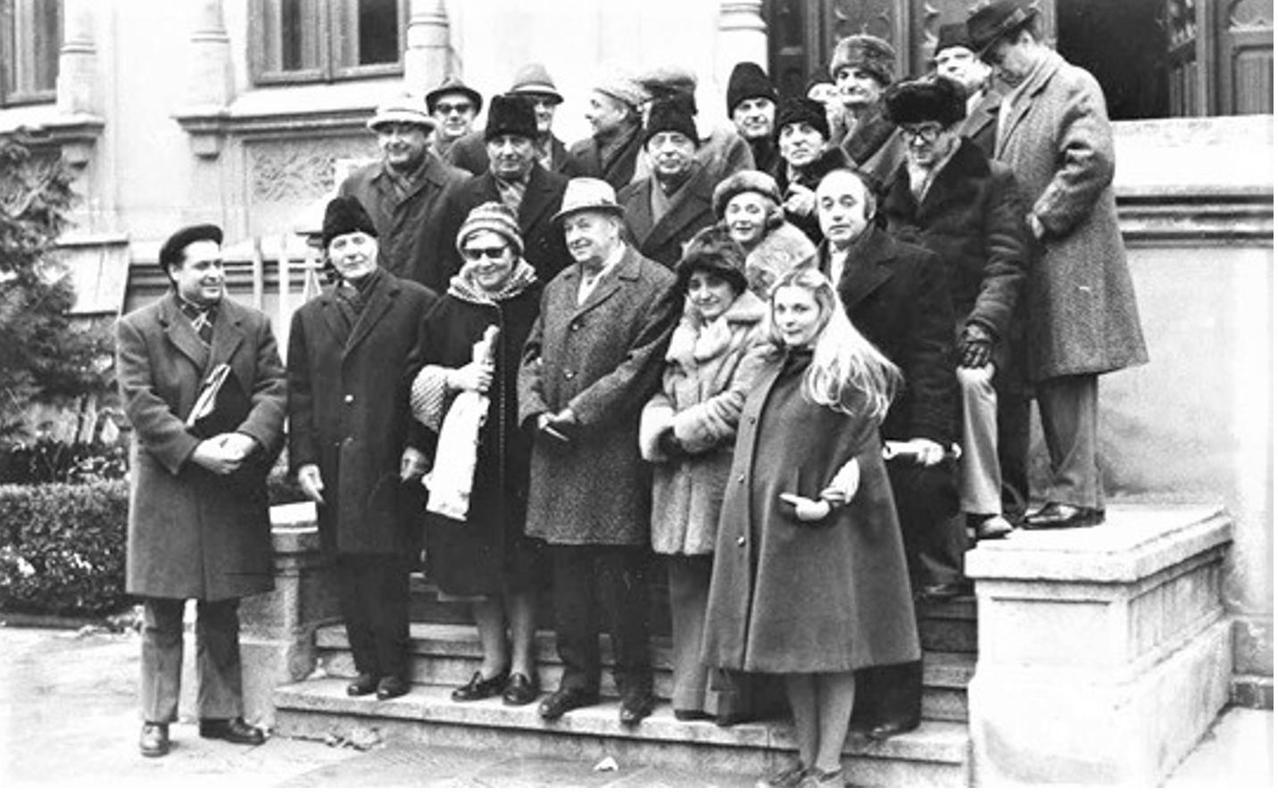 1978 – Casa Universitarilor, la aniversarea Academicianului Aurel Avramescu