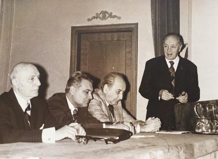 1. Elie Carafoli, Florin Tanasescu, Calin Mihaileanu, Aurel Avramescu