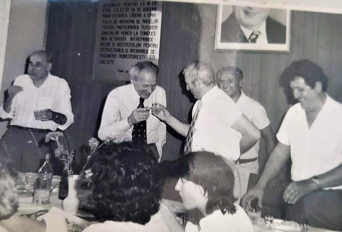 aug.1985 Pensionare Emil Botner